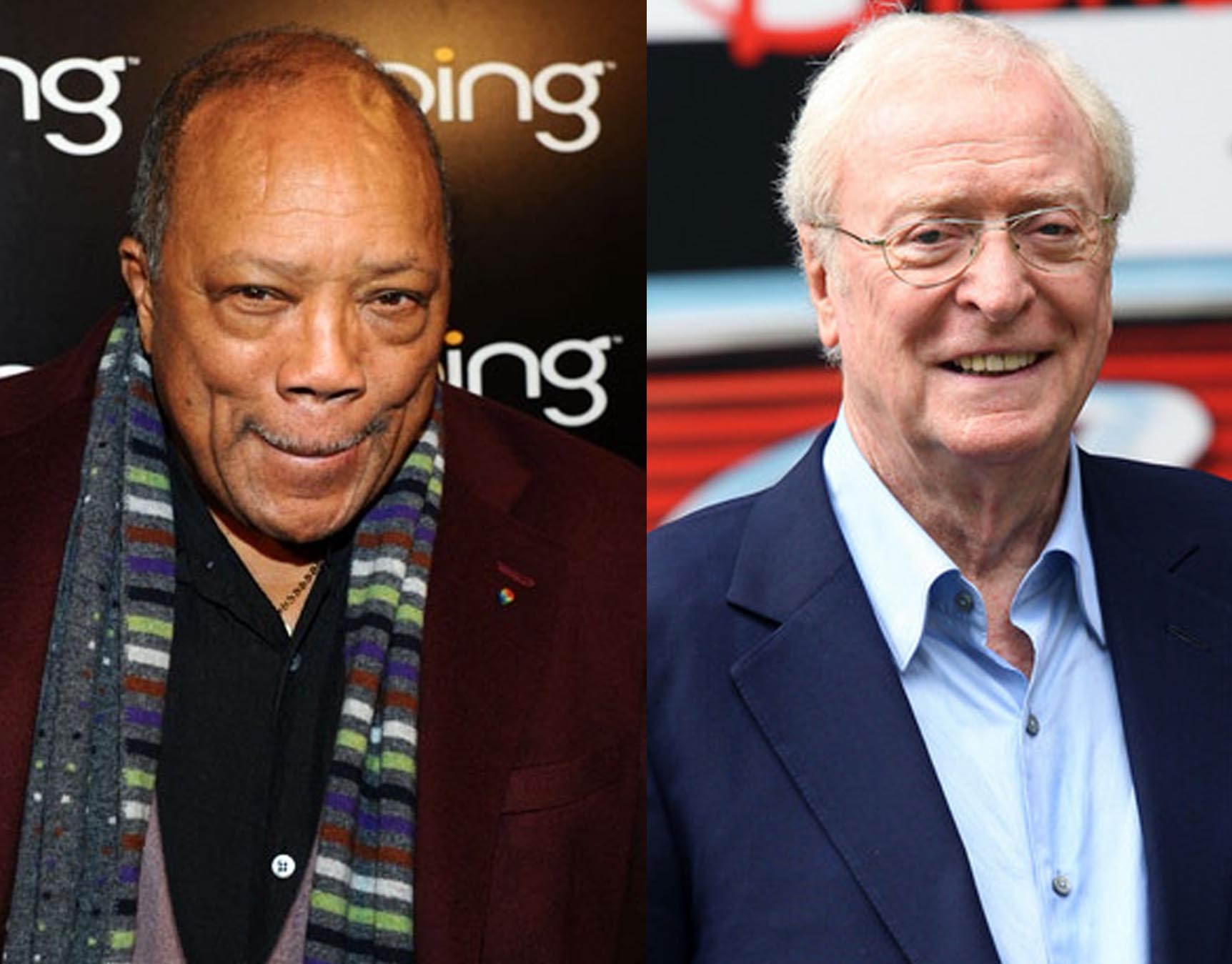 Quincy Jones & Michael Caine