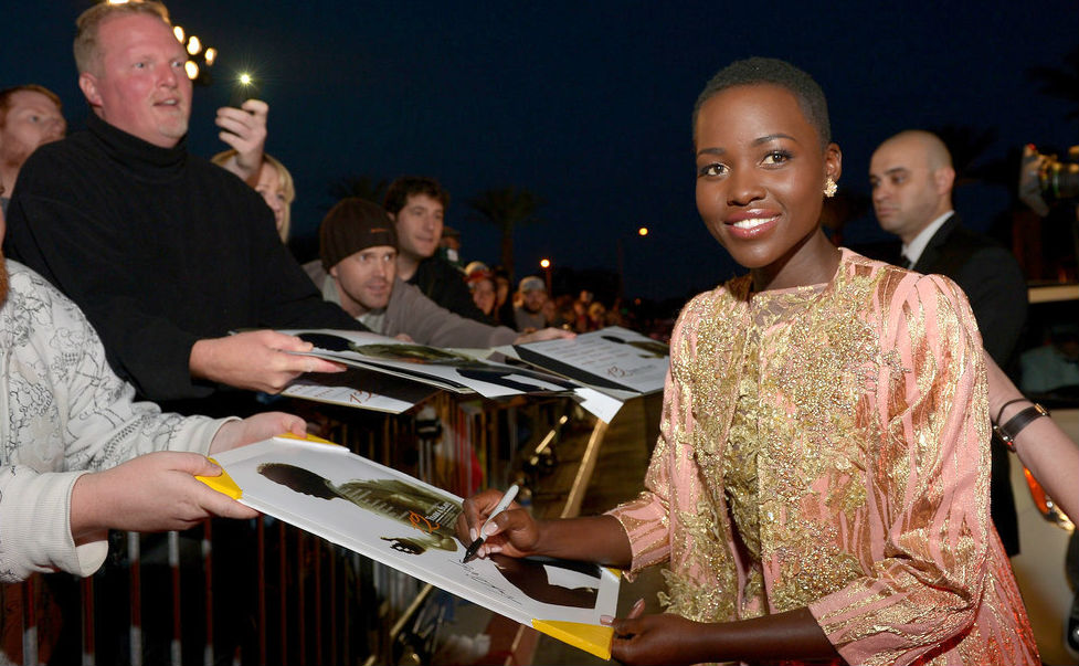 Lupita Nyong'o 2014 Palm Springs International Film Festival Awards Ga