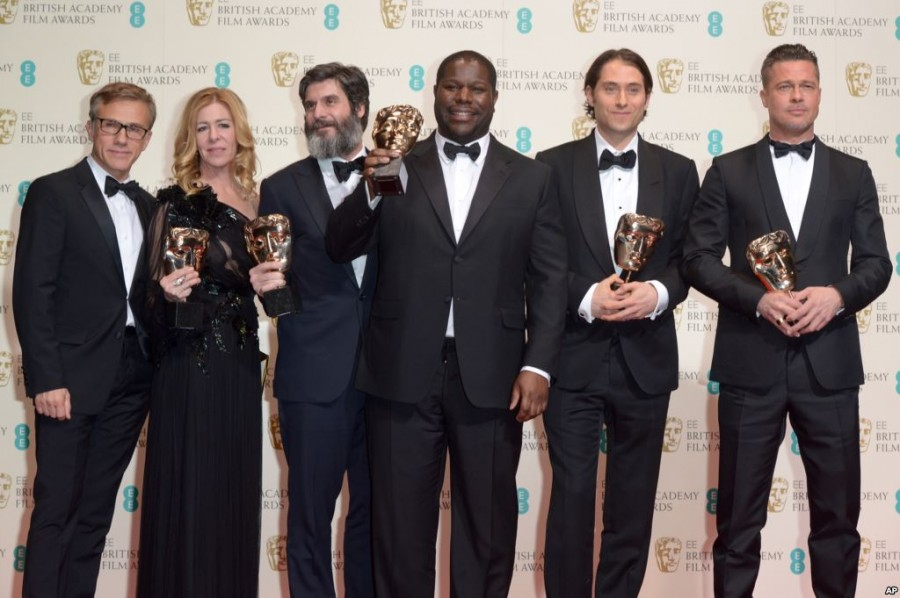 12 Years A Slave British Film Awards
