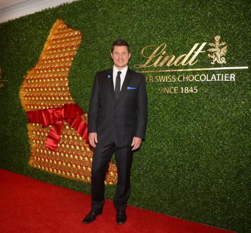 Nick Lachey Lindt Chocolate Auction for Autism