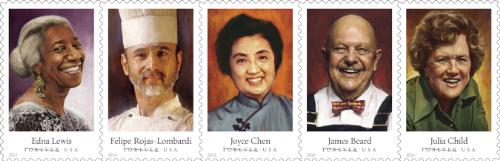 forever stamps chefs