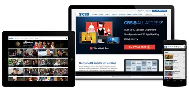 cbs digital subscription service