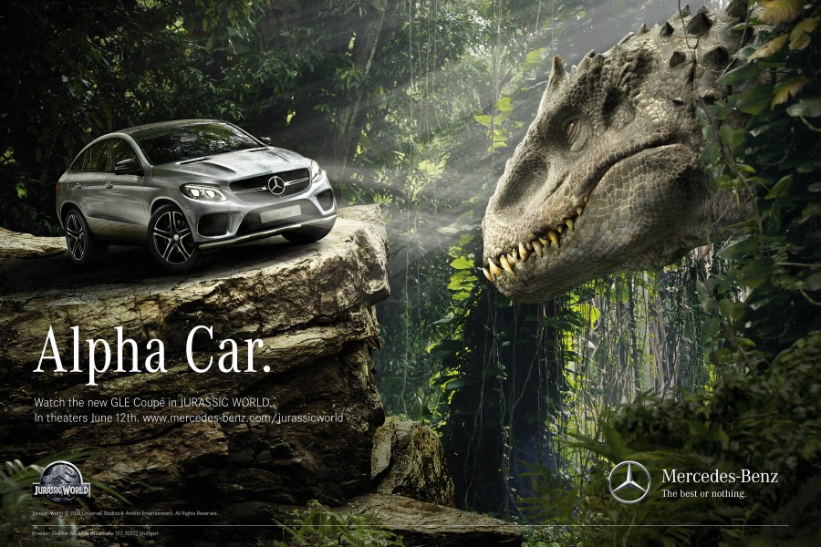 Jurassic World and Mercedes-Benz