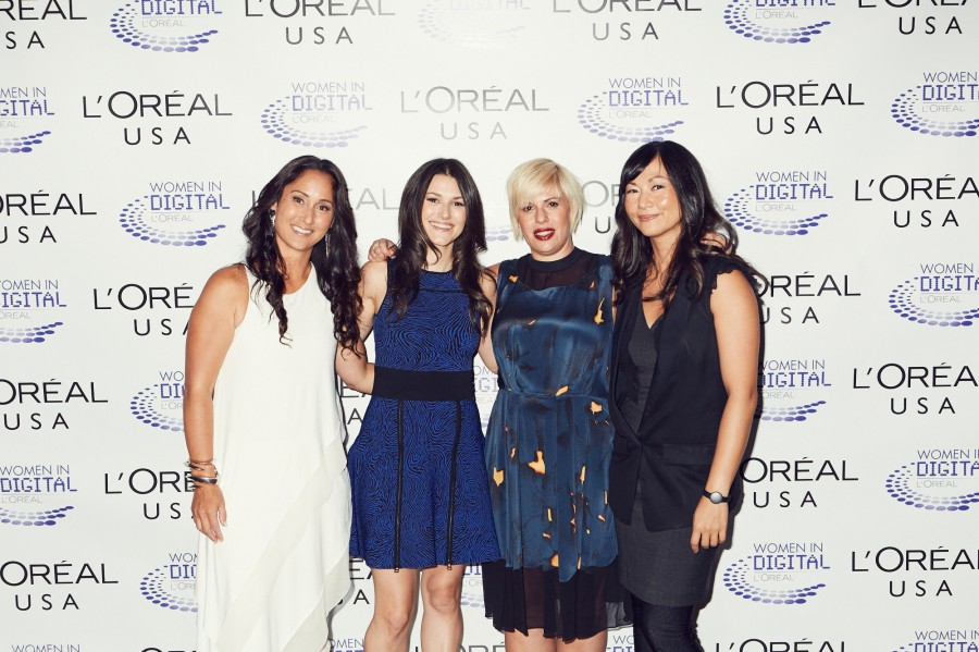 2014 winners of L'Oreal USA's NEXT Generation Awards, and Rachel Weiss