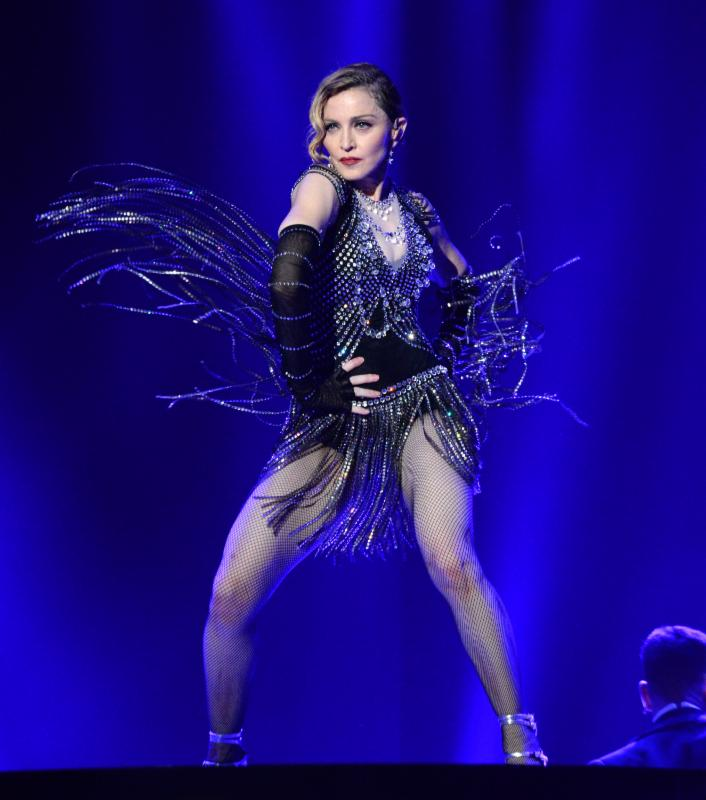 Madonna Rebel Heart tour fashion