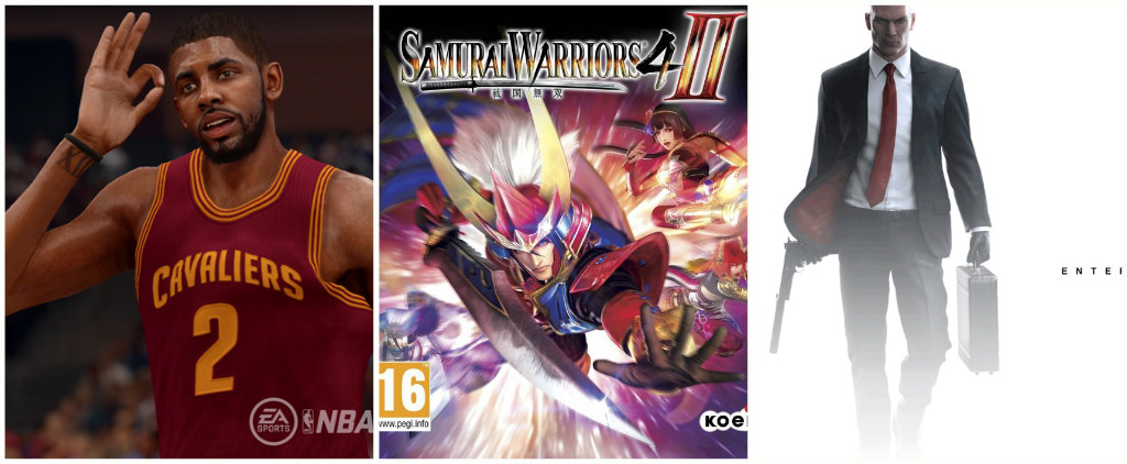 NBA Live 16 Samurai Warriors Hitman
