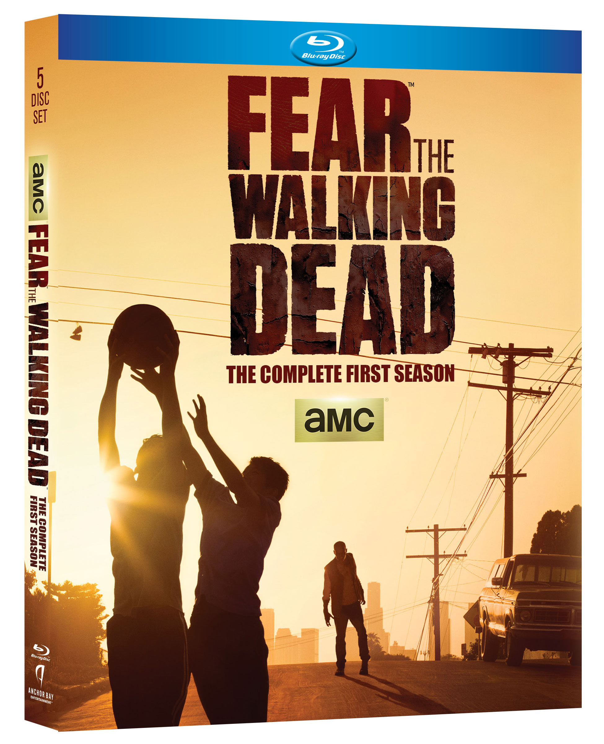 Fear The Walking Dead dvd