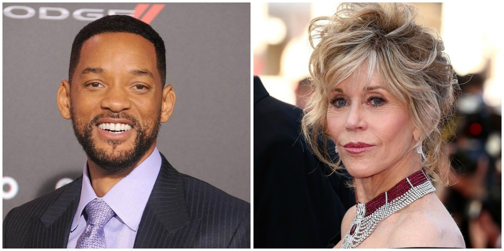 Hollywood Film Awards - Jane Fonda and Will Smith