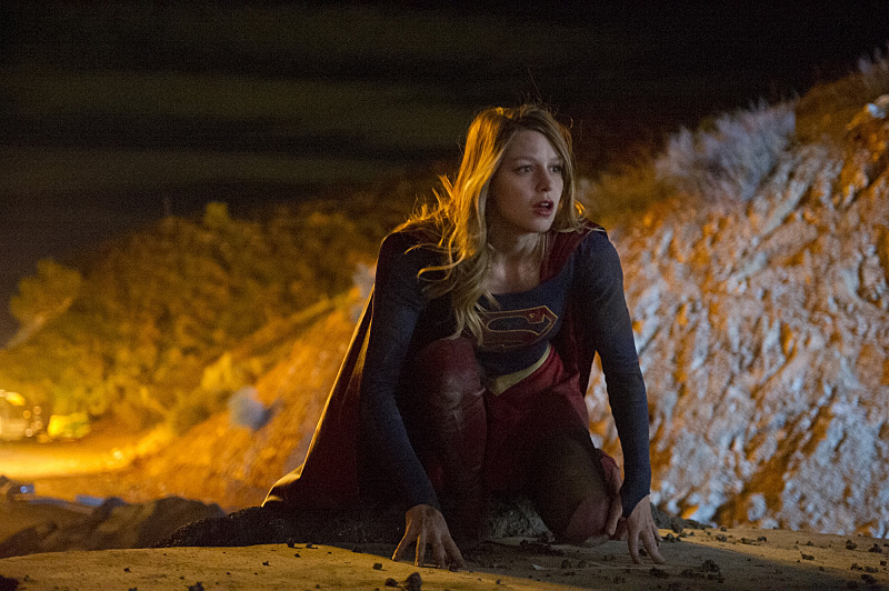 'Supergirl' TV review - Melissa Benoist - Darren Michaels/CBS