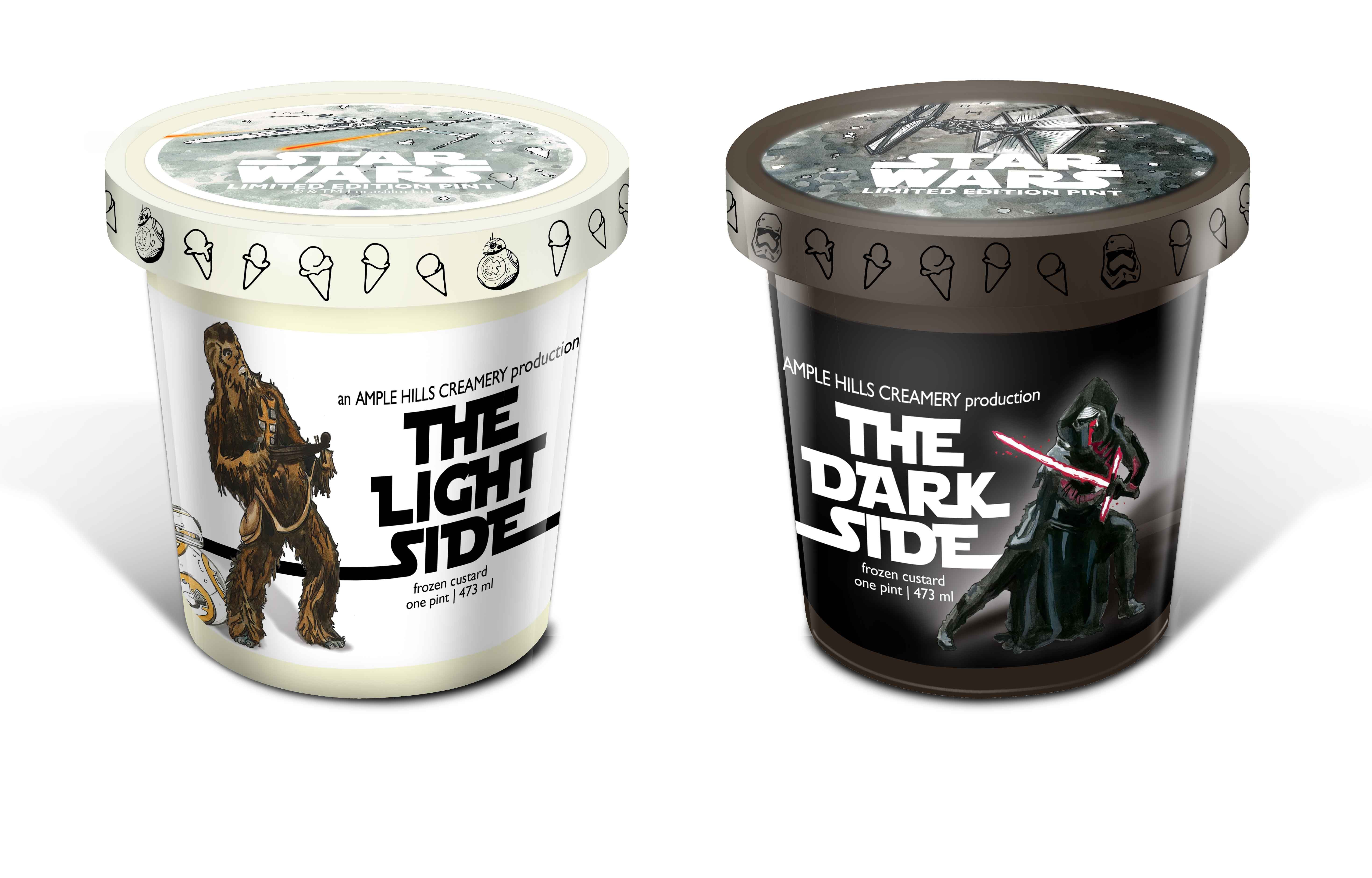 Star Wars ice cream - Ample Hills Creamery