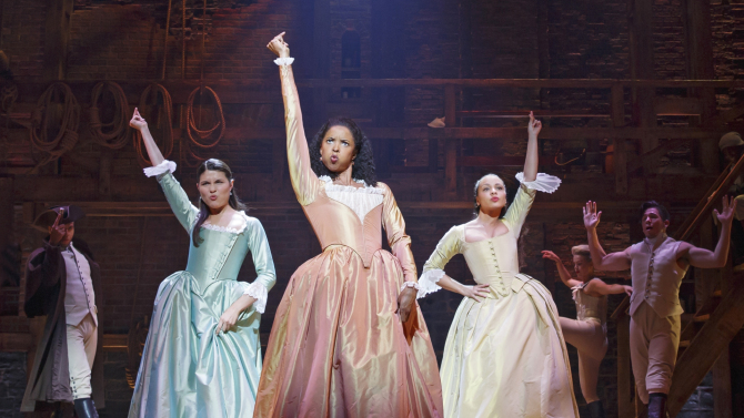 Hamilton comes to Hollywood Pantages