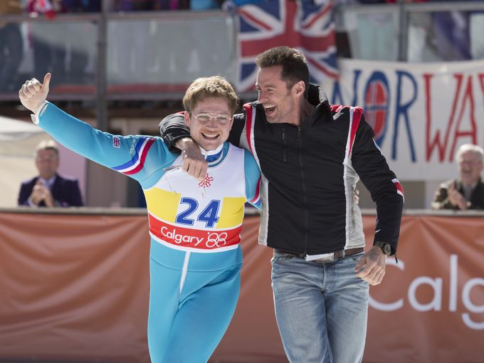 'Eddie The Eagle' movie review by Lucas Mirabella - LATF USA