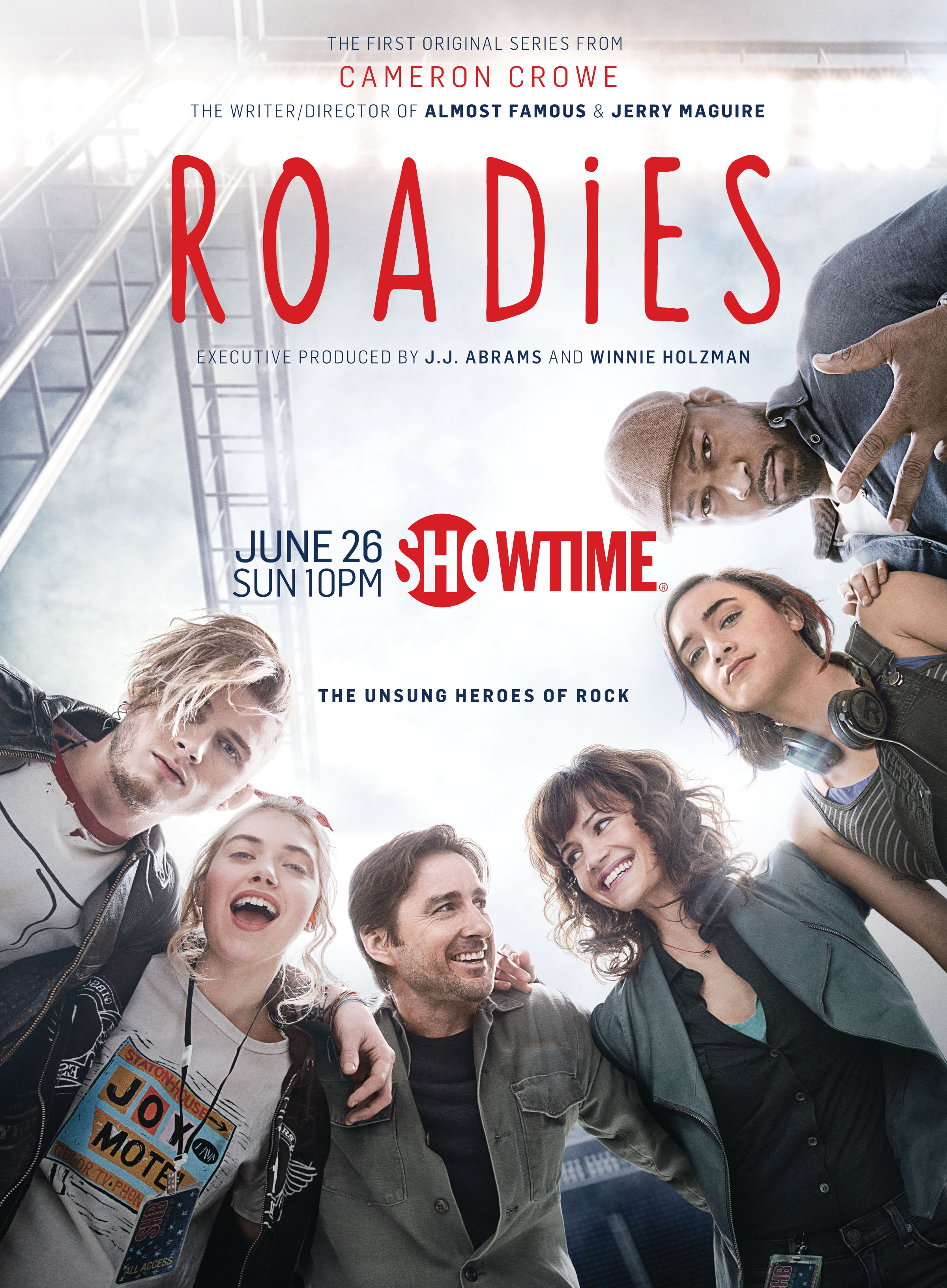 Roadies showtime poster