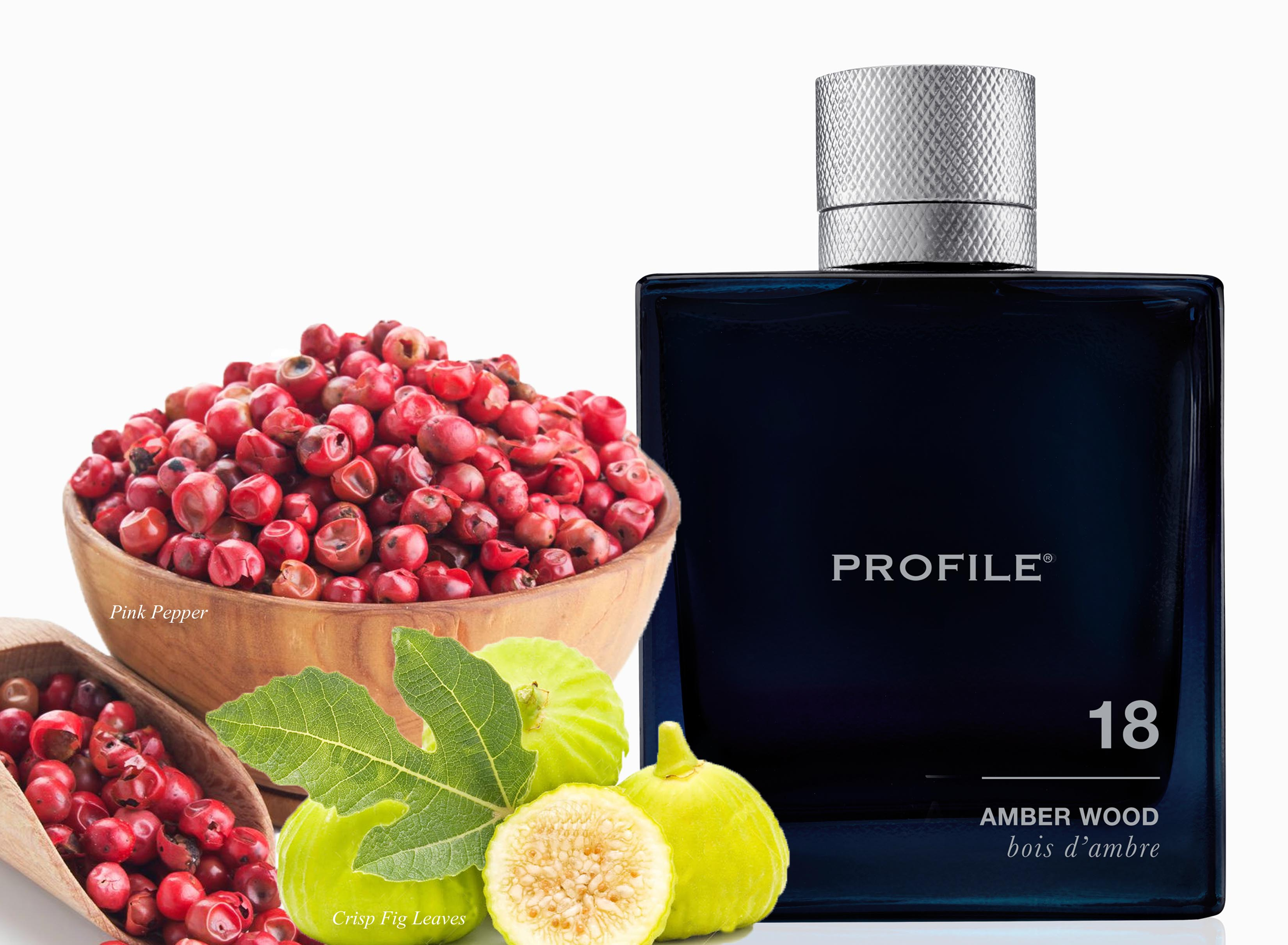 PROFILE, Rob Lowe, 18 Amber Wood fragrance
