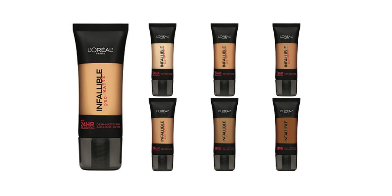 Loreal Paris Makeup Powder Infallible Pro Matte Natural Beige Lamp039oreal Total Cover Foundation
