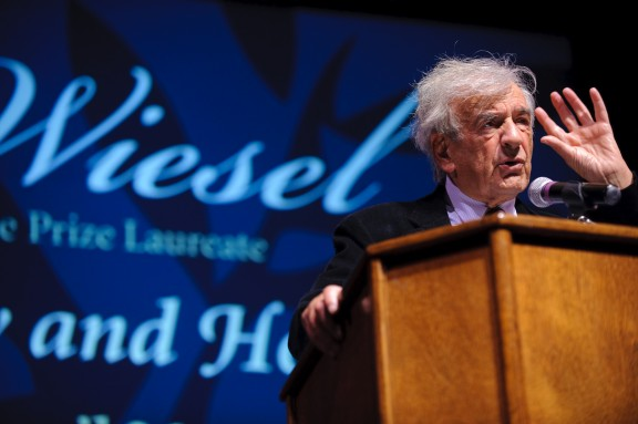 a biography of elie wiesel a nobel prize winning author Elie wiesel, a holocaust survivor and nobel laureate, has died at 87, a  spokesman for  born in romania, wiesel was 15 when he was sent to the  auschwitz  the future writer was later moved and ultimately freed from the.