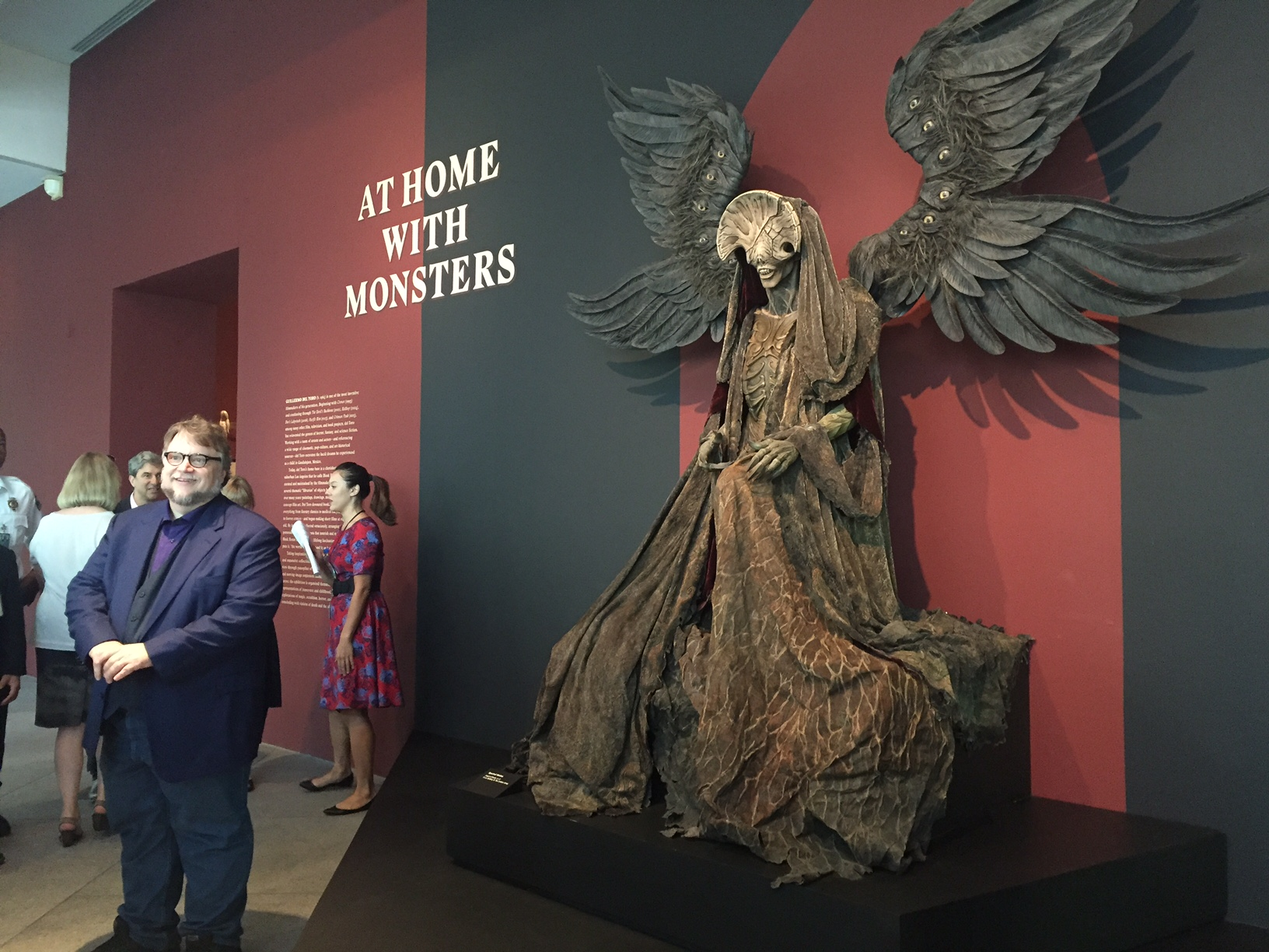 Guillermo del toro, lacma, at home with monsters