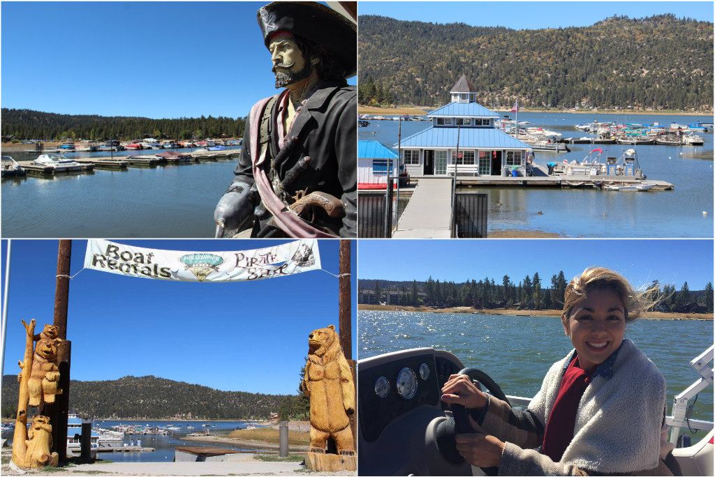 holloway's marina, big bear lake village