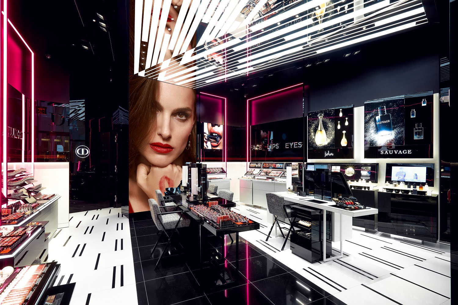 Fashion Beauty News: Dior Opens 1st Makeup Concept Beauty Boutique In NYC