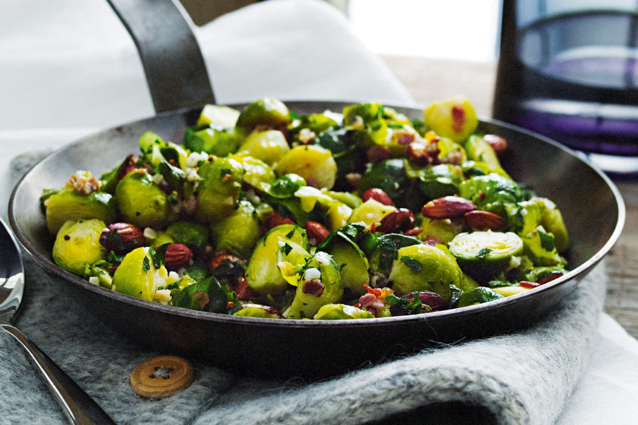 brussel sprouts and bacon recipe, thanksgiving