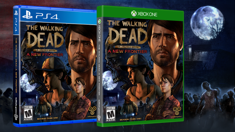 The Walking Dead telltale series a new frontier