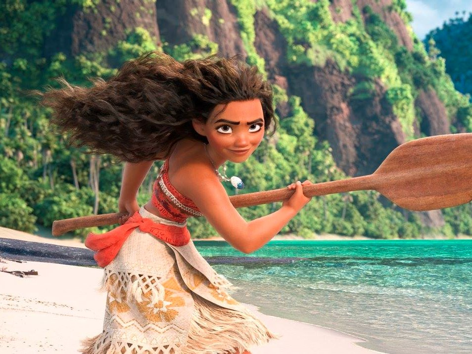 box office, moana