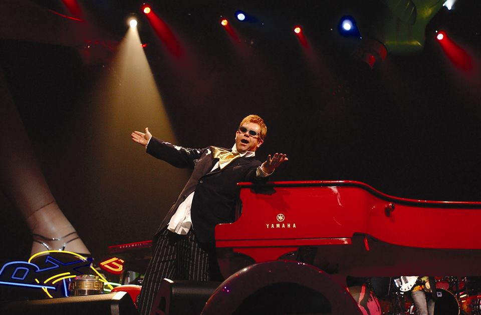elton john the colosseum tour dates