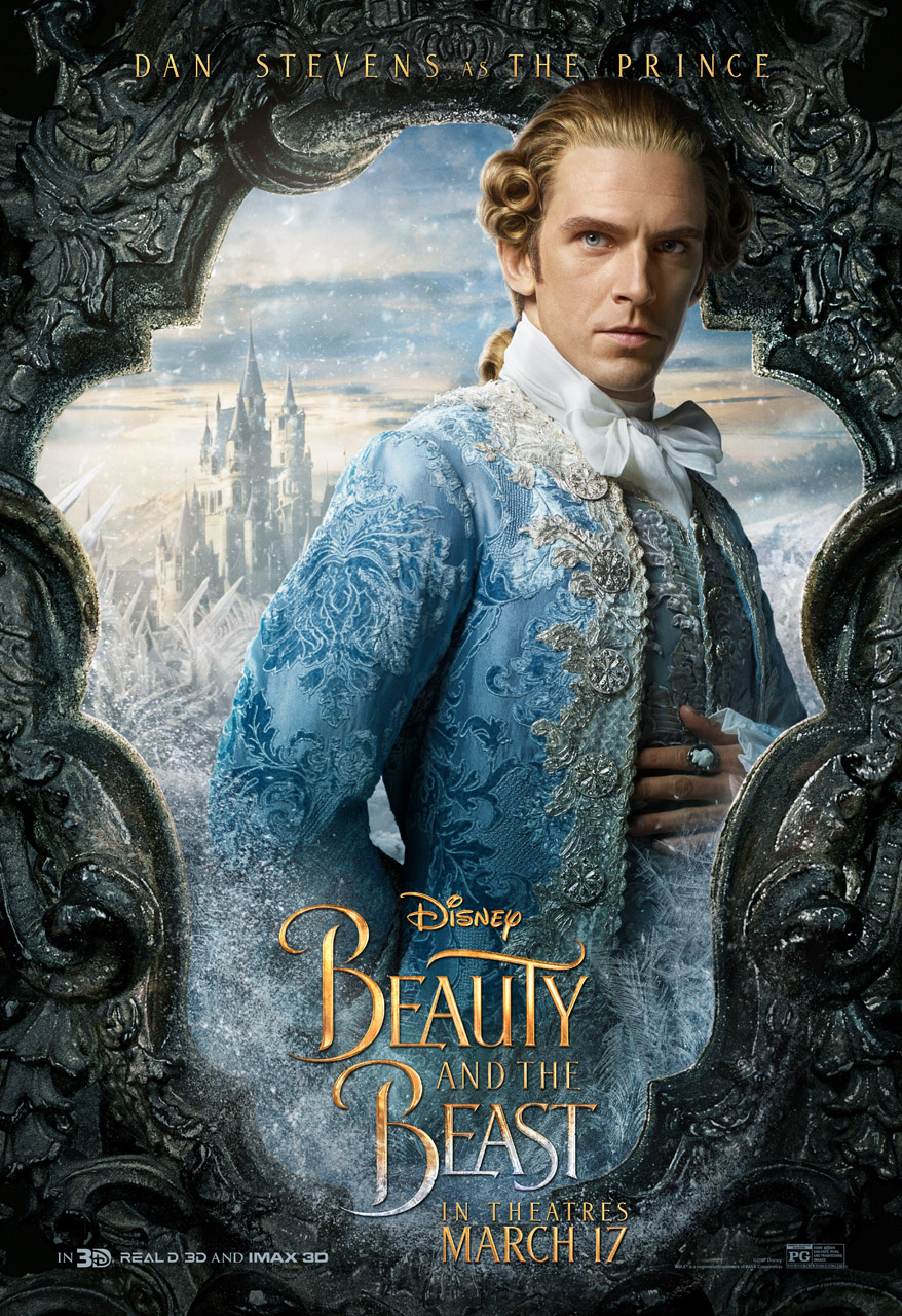 dan stevens the prince beauty and the beast
