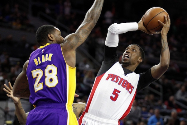 lakers pistons