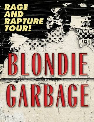 blondie garbage tour