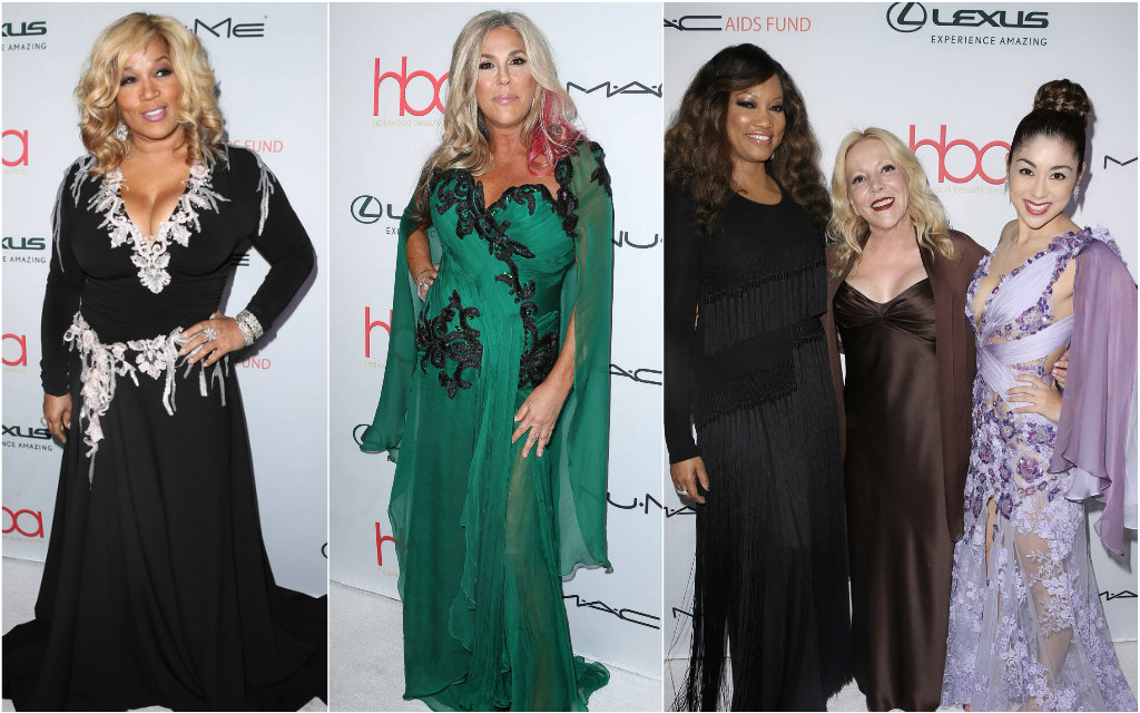 Pamela Price, Kym Whitley, Lisa Stanley, Hayari paris