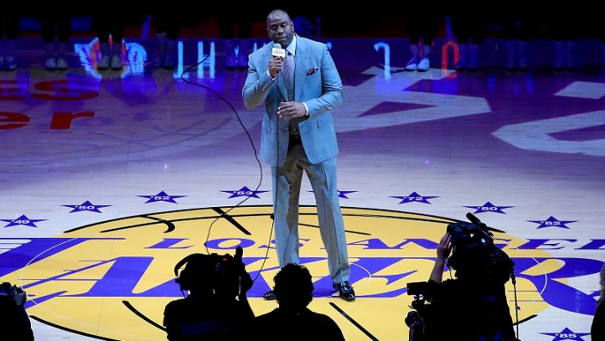 lakers magic johnson president