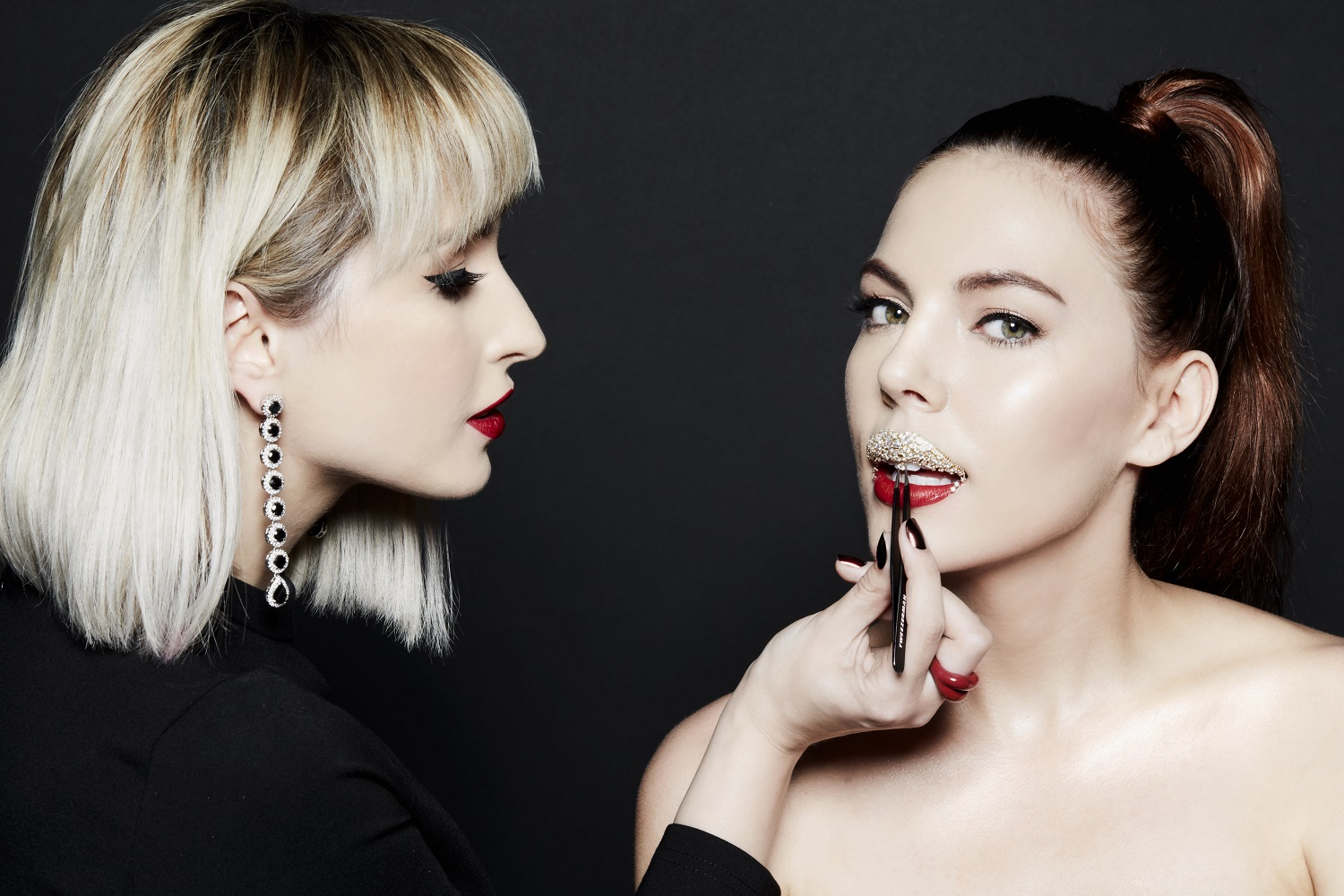 Smashbox Cosmetics collaborated with Makeup Artist Vlada Haggerty