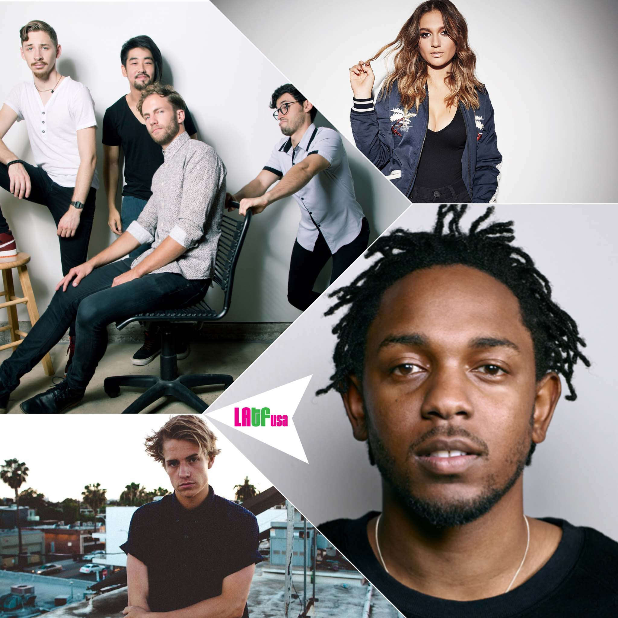 night lights, kendrick lamar, daya, corey harper