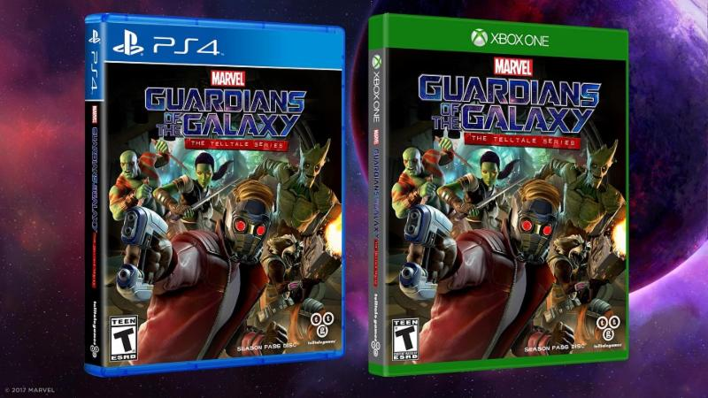 guardians of the galaxy video game, telltale series