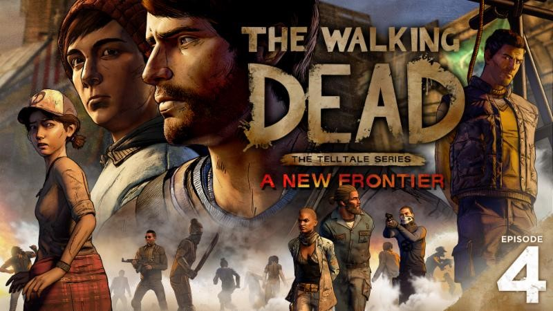 walking dead episode four game video trailer