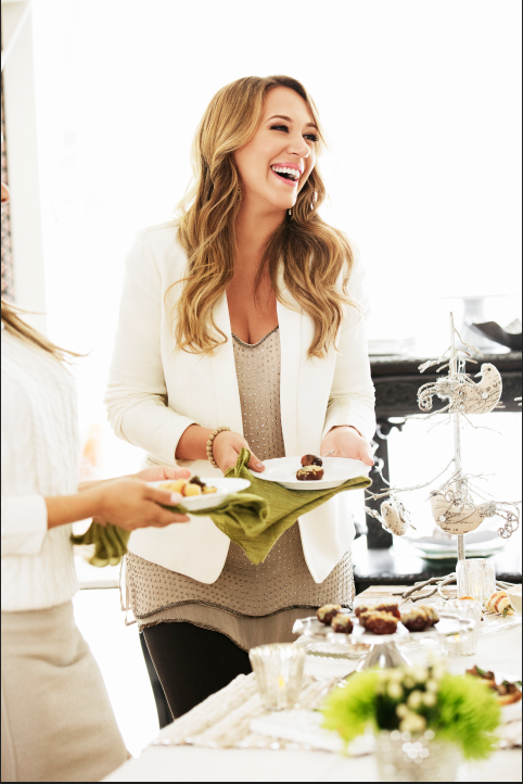 haylie duff, mrs. thinster's cookies
