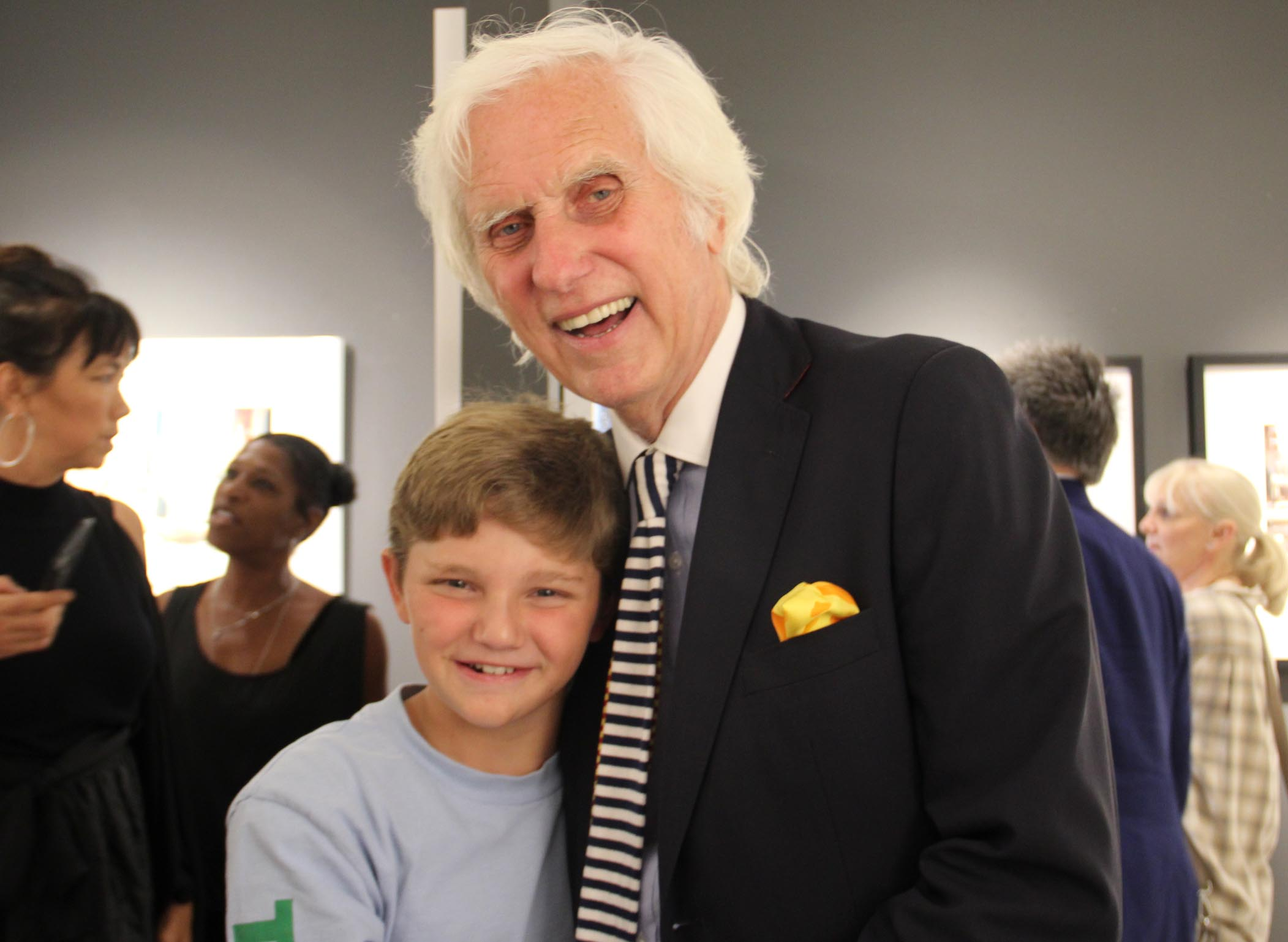 douglas kirkland and grandson, mouche gallery