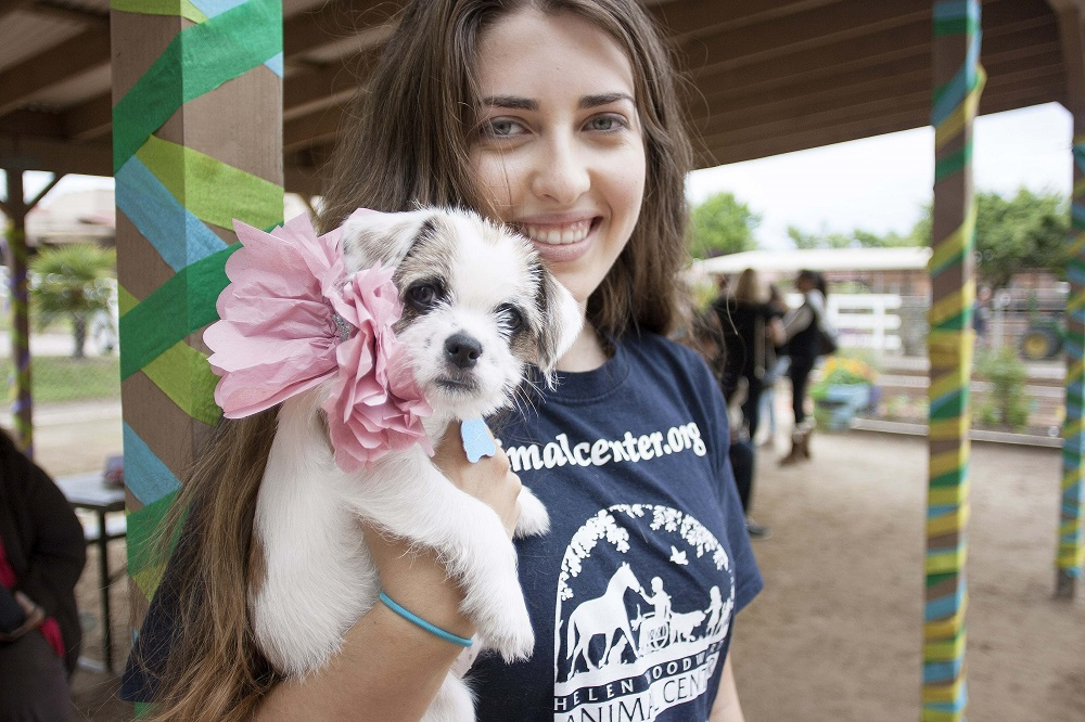 helen woodward animal center puppy prom
