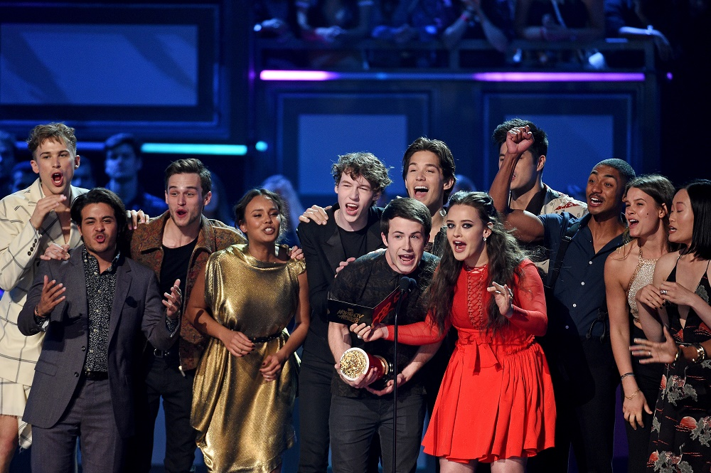 13 reasons why cast, mtv movie and tv awards