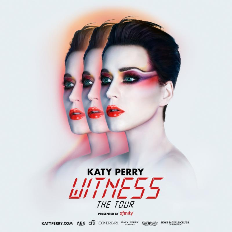 katy perry, witness tour dates