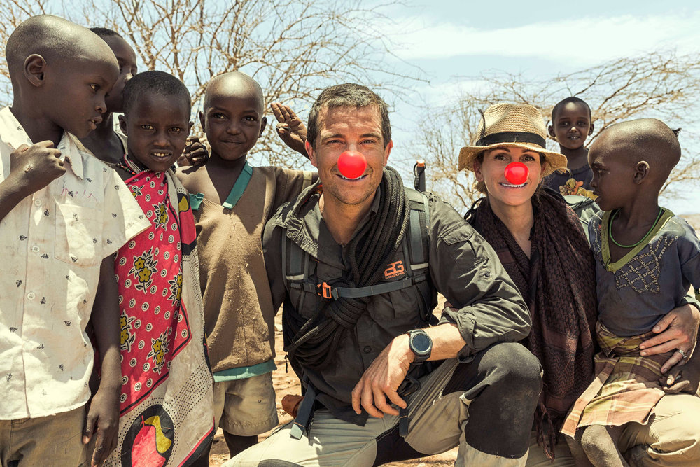 Julia Roberts Red Nose Special Day Kenya