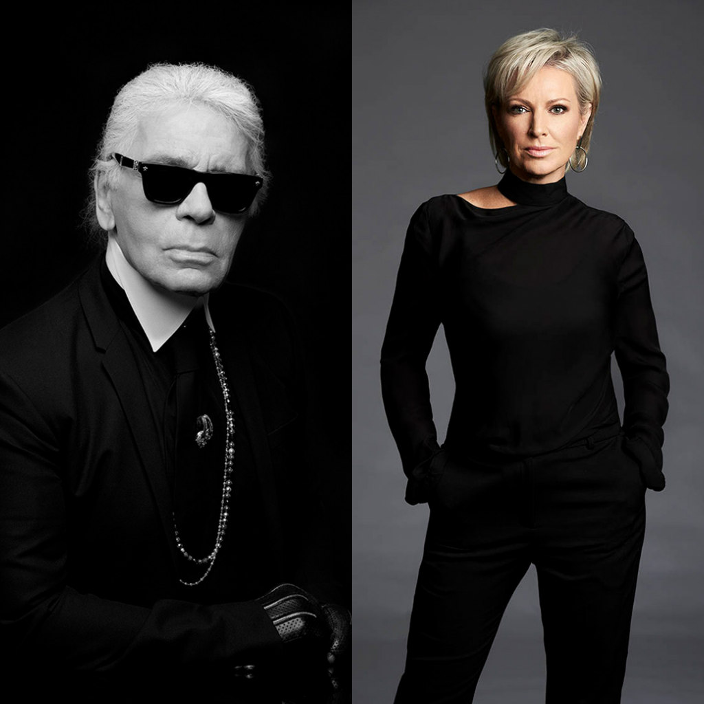 karl lagerfeld collaboration with modelco