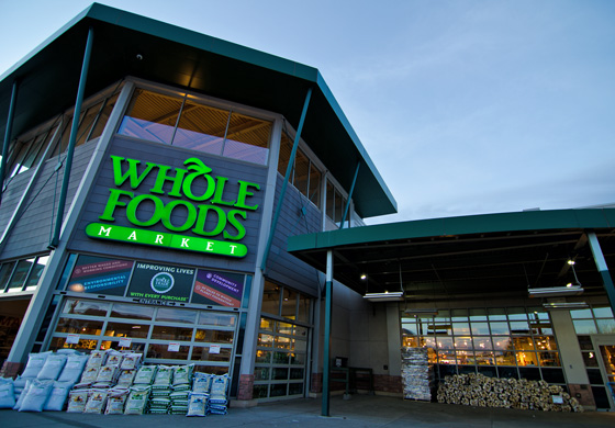 Whole foods, amazon