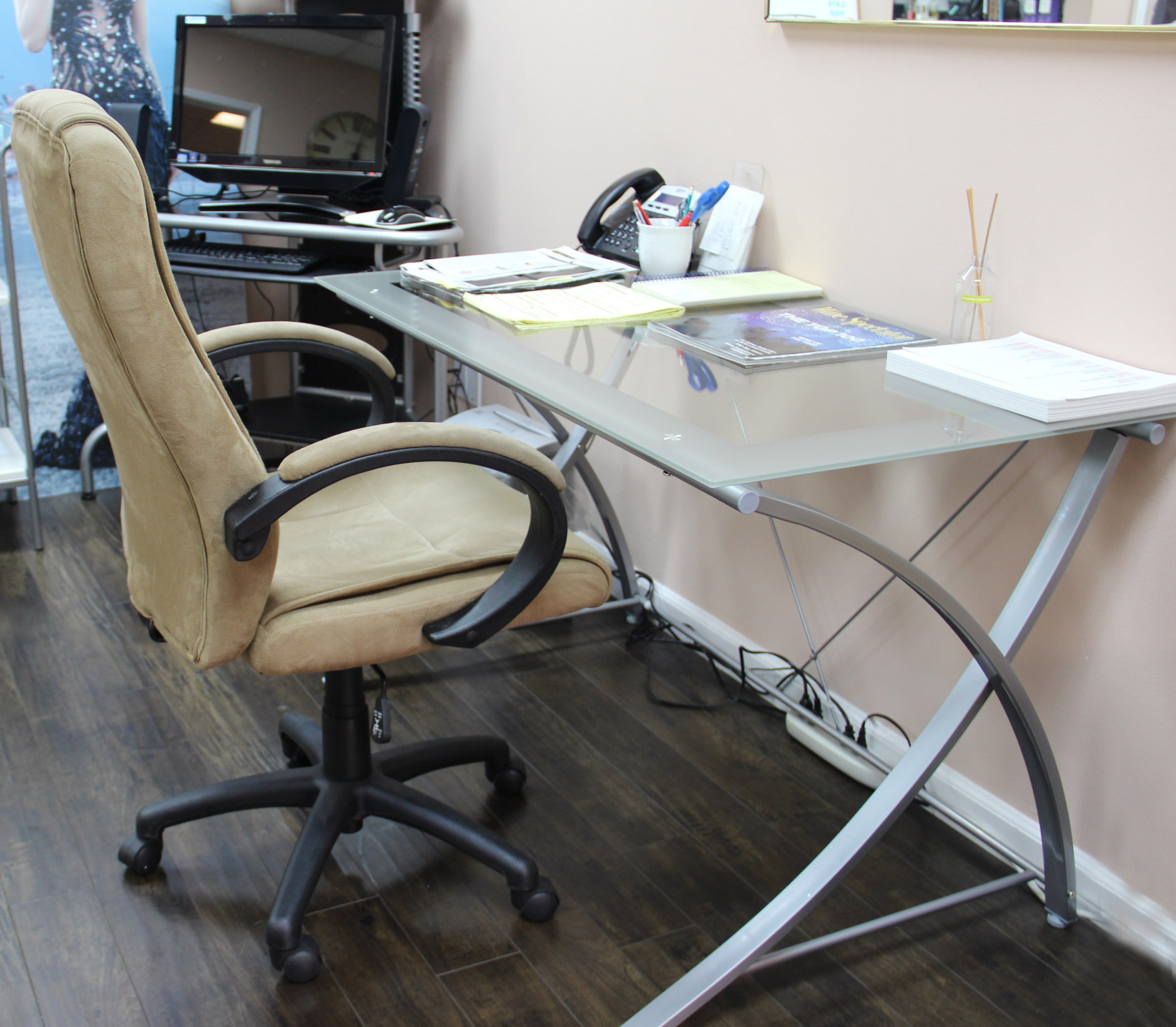 office depot, realspace zentra desk