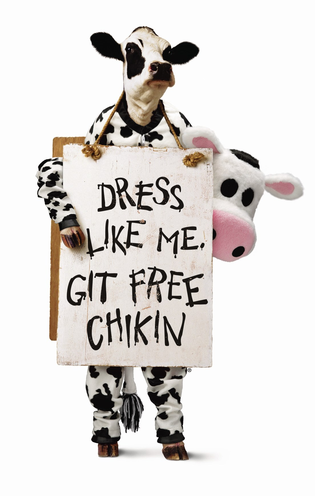 Dress Like A Cow For Free Chick-Fil-A On Cow Appreciation Day ...