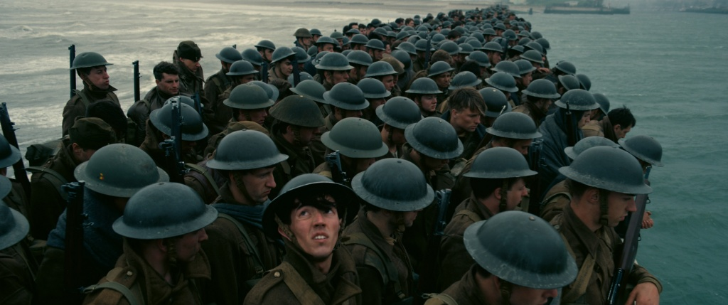 Dunkirk directed by Christopher Nolan