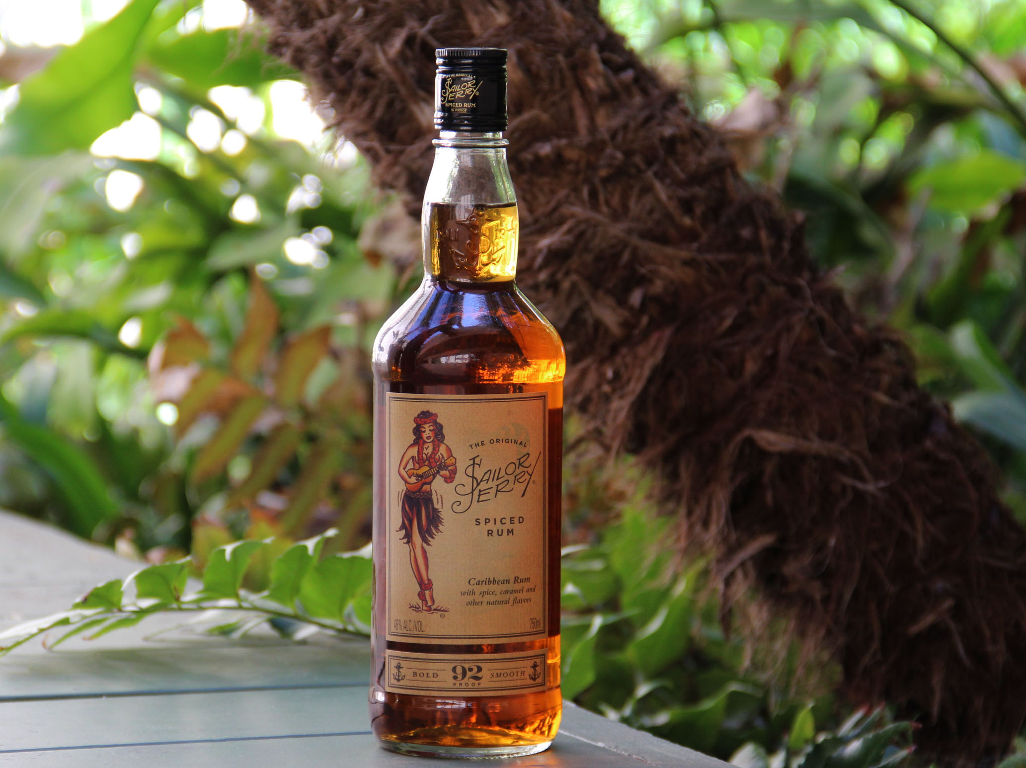 Sailor Jerry Rum Bottle