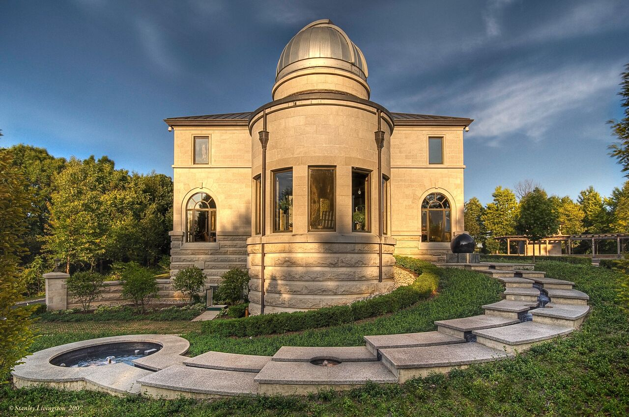 observatory mansion, real estate, total solar eclipse