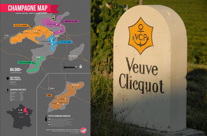 Veuve Clicquot Map